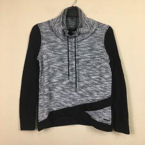 Cavin Klein Cowl Neck Pullover Sweatshirt